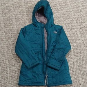 The North Face girls parka